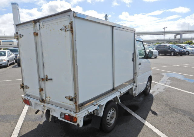 2001 MITSUBISHI MINICAB TRUCK 650CC PICKUP REAR CARGO BOX For Sale (picture 2 of 6)