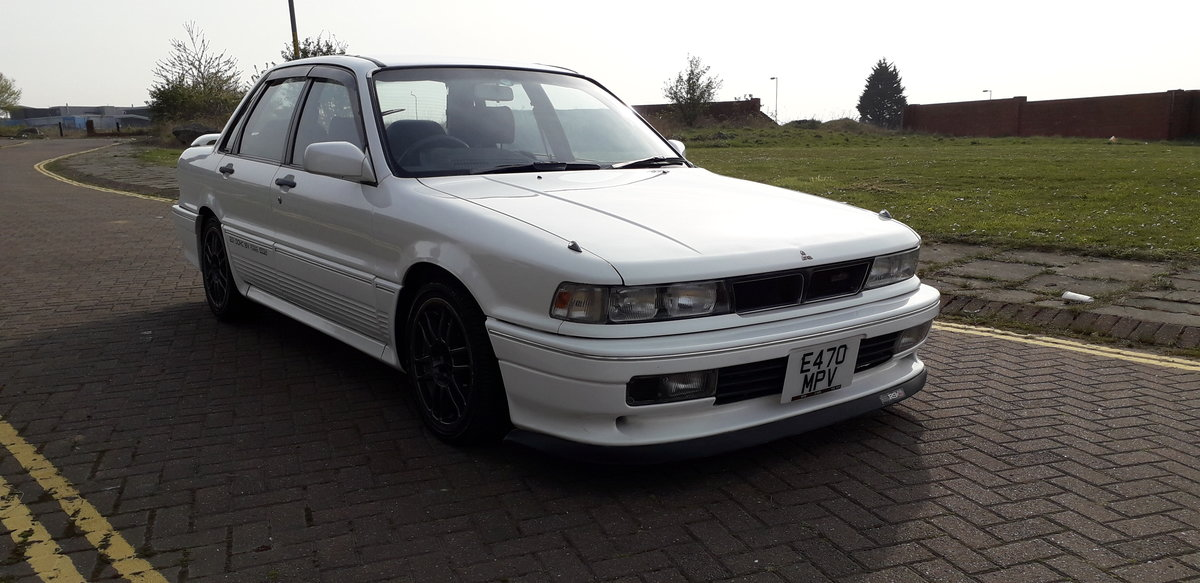 1988 MITSUBISHI GALANT VR4 E39A - 4WD TURBO HERE NOW FROM JAPAN  SOLD (picture 1 of 6)