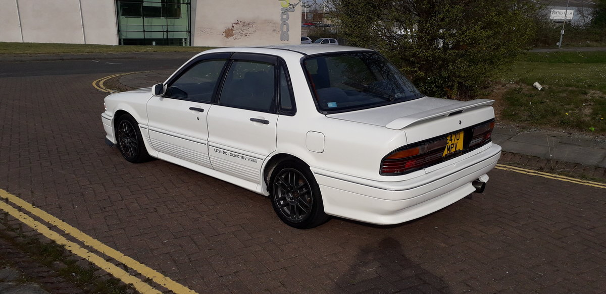 1988 MITSUBISHI GALANT VR4 E39A - 4WD TURBO HERE NOW FROM JAPAN  SOLD (picture 3 of 6)