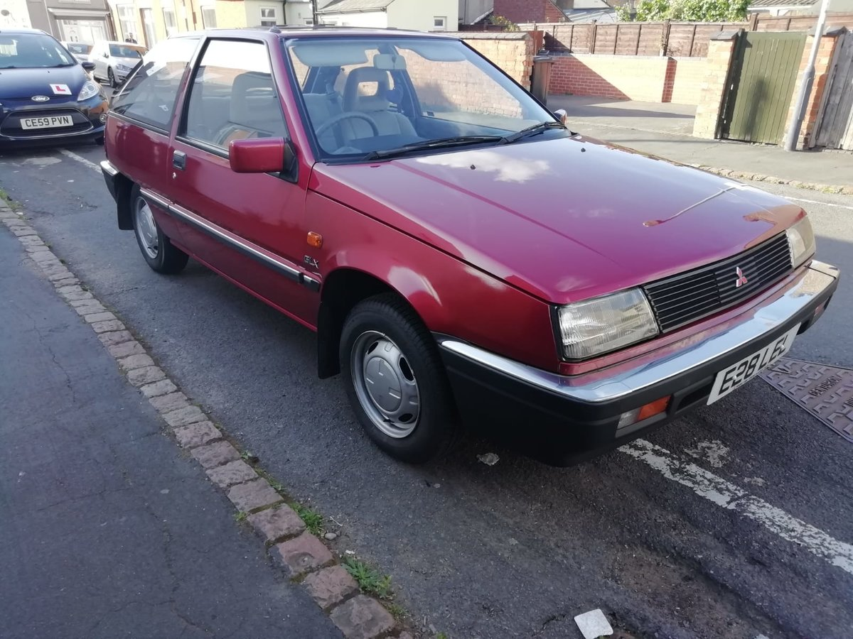 1987 Mitsubishi Colt GLX 1.5L 3 door MK2 SOLD (picture 1 of 6)