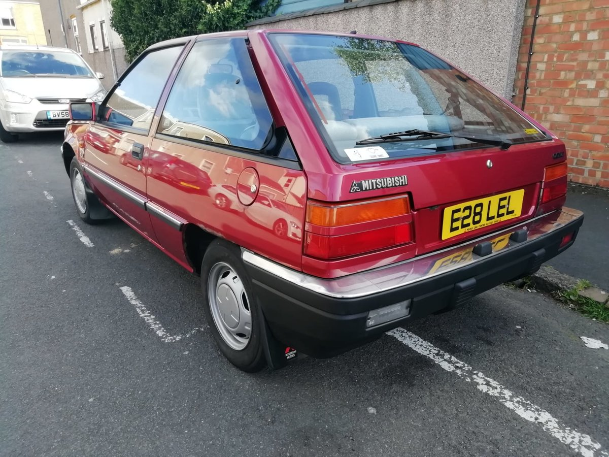 1987 Mitsubishi Colt GLX 1.5L 3 door MK2 SOLD (picture 2 of 6)