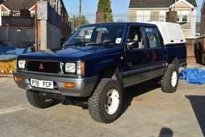 1997 Mitsubishi l200, Classic shape, Super rare For Sale