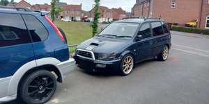1995 Mitsubishi Evo3 RVR X3 turbo 4wd manual  JDM Rare