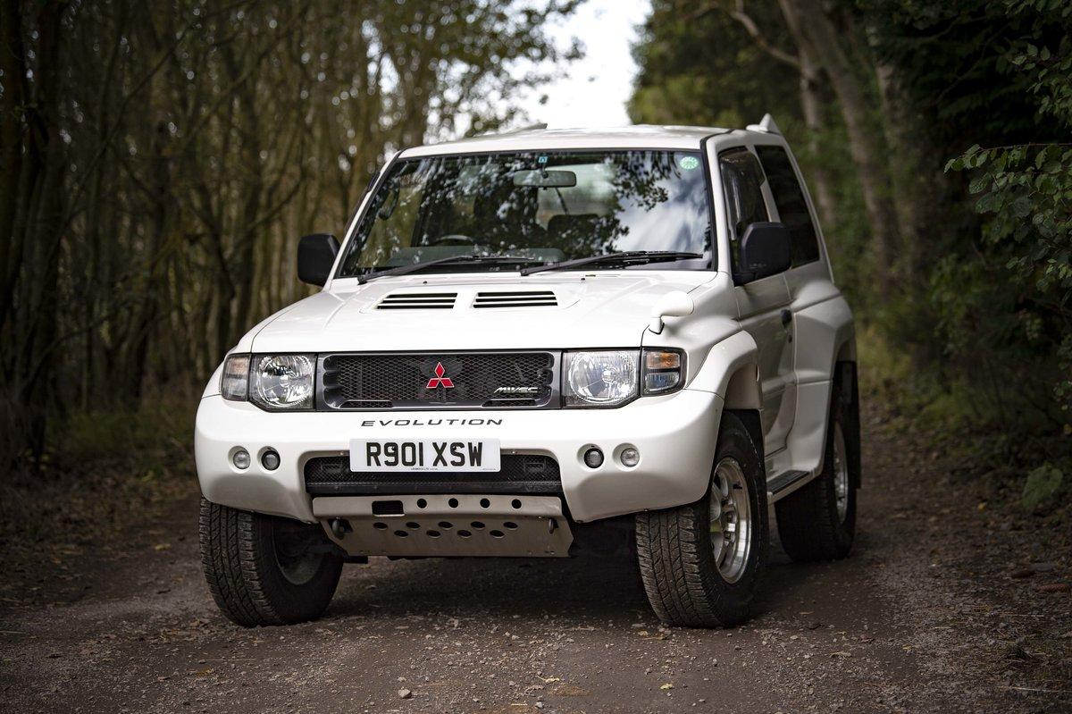 Mitsubishi Pajero Evolution 1997 SOLD (picture 2 of 6)