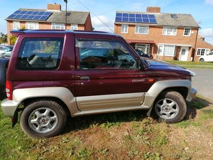 1996 Mitsubishi pajero junior automatic