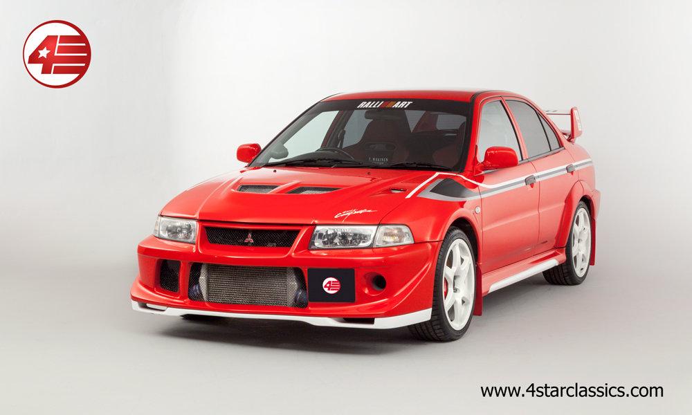 2000 Mitsubishi Evo VI Tommi Makinen /// 45k Miles For Sale (picture 1 of 6)