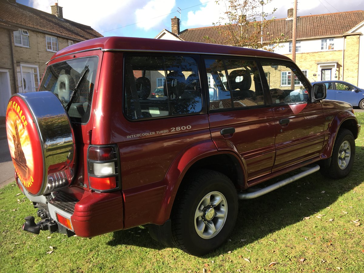 Shogun 7 seater 1995 n reg SOLD (picture 4 of 6)