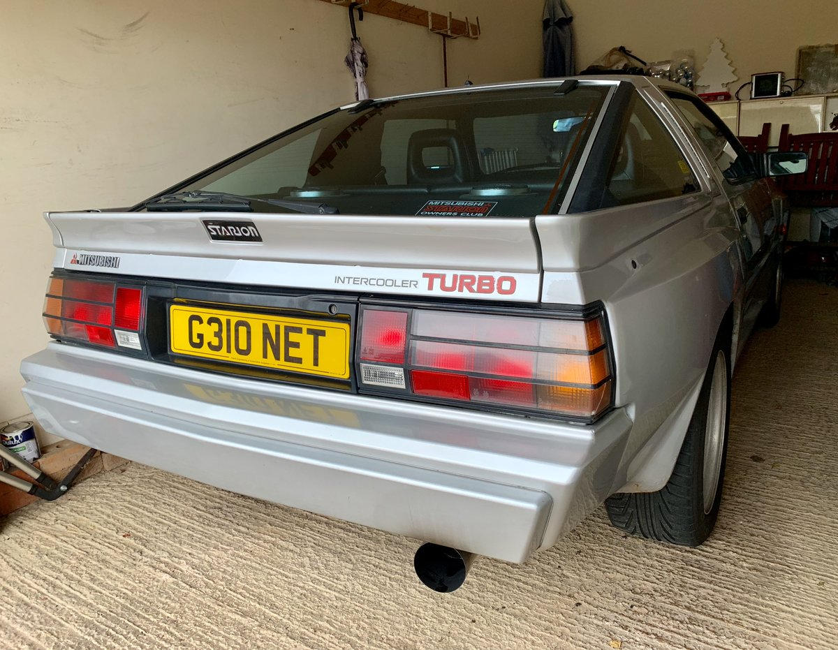 1990 Mitsubishi Starion 2.6 Turbo SOLD (picture 6 of 6)