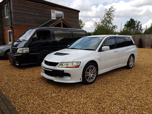 2006 NOW SOLD... Mitsubishi evo 9 wagon manual For Sale