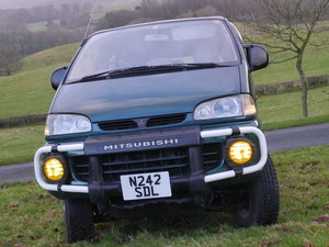 1996 4WD Mitsubishi Delica Space Gear Early L400 SOLD