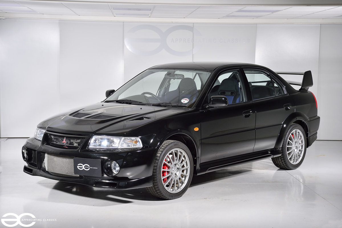 1999 UK Ralliart Mitsubishi Lancer Evolution VI - 6K Miles - FSH SOLD (picture 2 of 6)