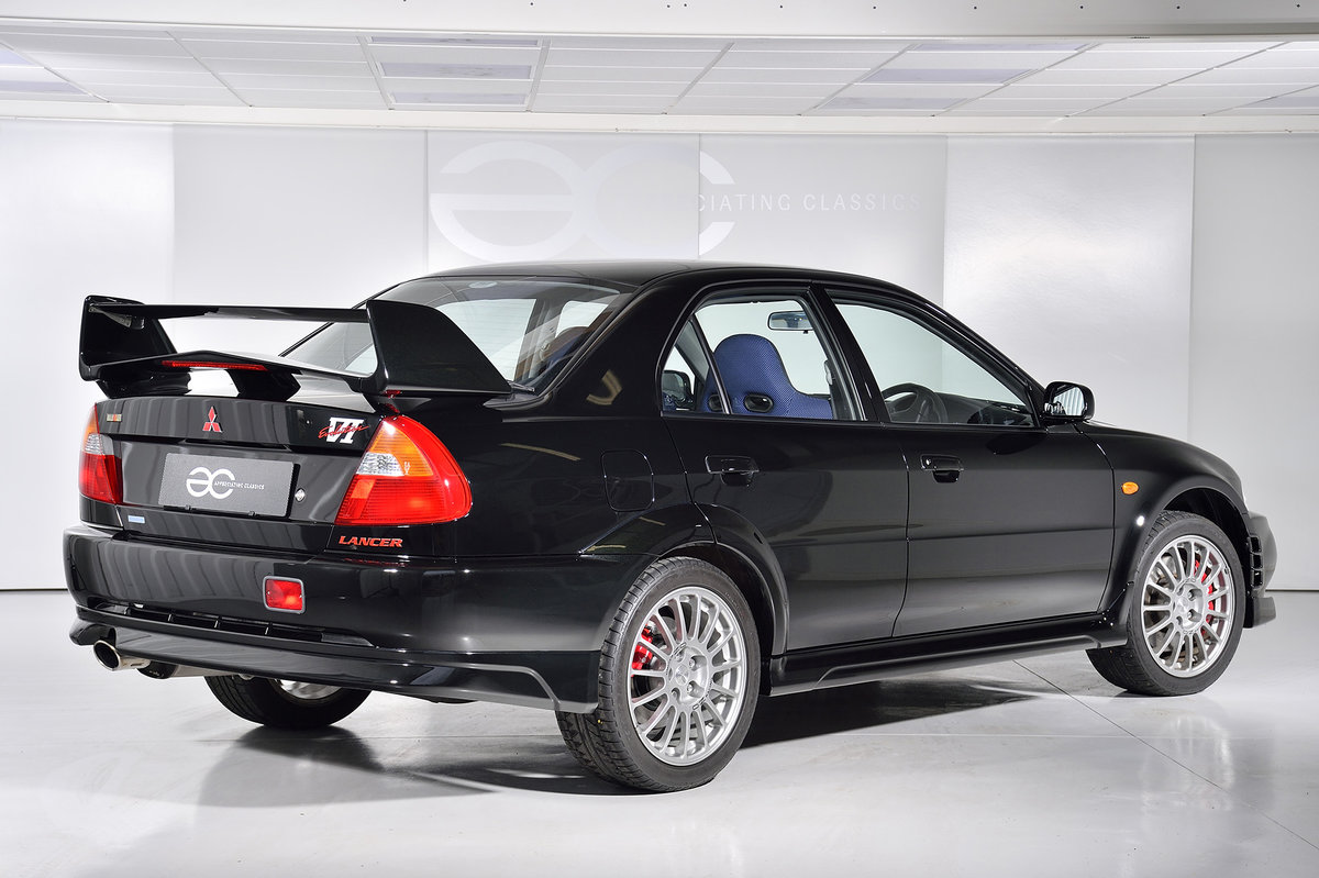1999 UK Ralliart Mitsubishi Lancer Evolution VI - 6K Miles - FSH SOLD (picture 3 of 6)