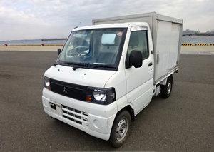 2008 MITSUBISHI MINICAB  TRUCK 650CC PICKUP * REAR CARGO BOX