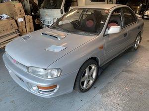1993 Subaru WRX RHD Manual Silver Driver Fast + Fun $14k For Sale