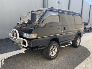 1988 Mitsubishi Mini Cab Bravo 4x4 Diesel Van RHD Blue Short For Sale