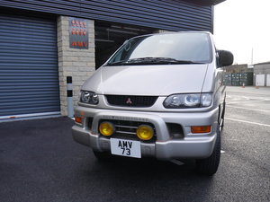1999 8 Seater Mitsubishi Delica - Ultra low mileage For Sale