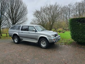 2003 Mitsubishi l200 warrior-k74 shape! Nice example!