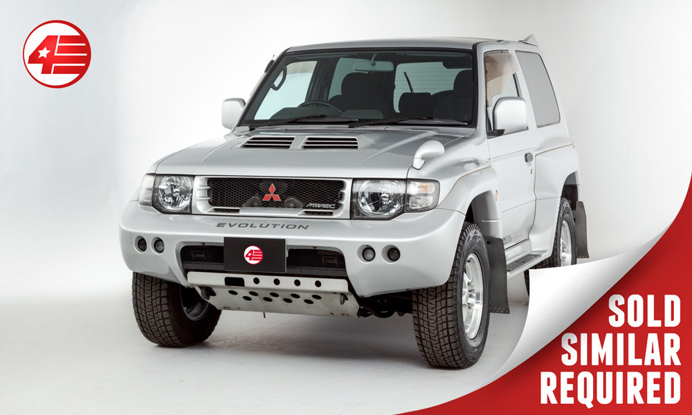 1997 Mitsubishi Pajero Evolution /// RARE /// Just 34k Miles SOLD (picture 1 of 3)