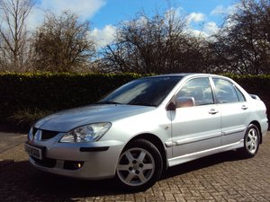 2005 A Lovely AUTOMATIC Mitsubishi lancer 1.6i REVERSING CAMERA!! For Sale