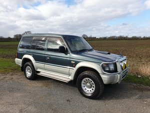1995 Mitsubishi Pajero Would suit enthusiast.