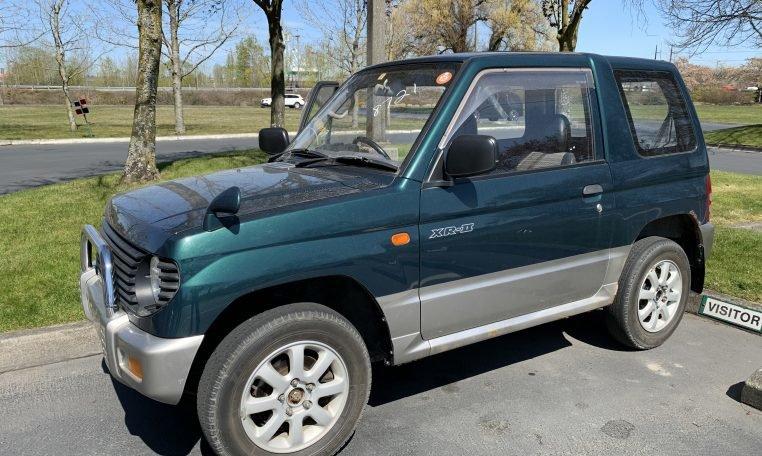 1995 Mitsubishi Pajero Mini 4×4 VR-2 5-speed Jade RHD $5.9k For Sale (picture 1 of 6)