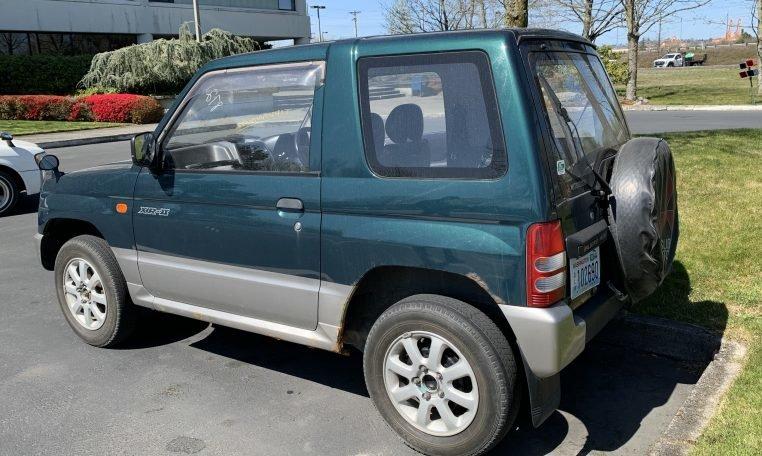 1995 Mitsubishi Pajero Mini 4×4 VR-2 5-speed Jade RHD $5.9k For Sale (picture 2 of 6)