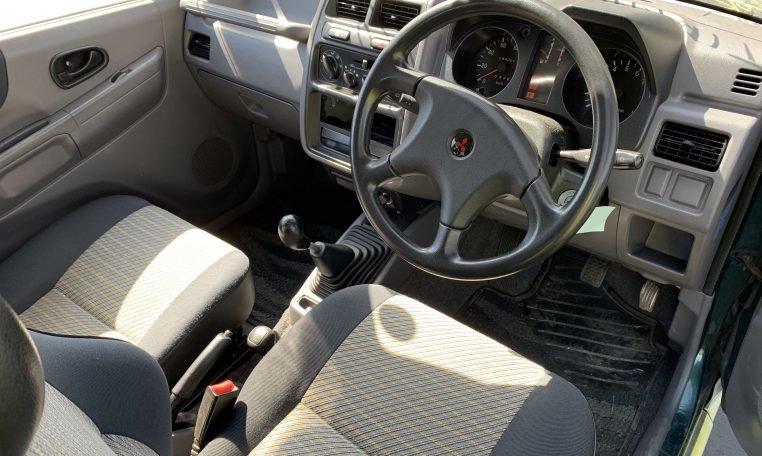 1995 Mitsubishi Pajero Mini 4×4 VR-2 5-speed Jade RHD $5.9k For Sale (picture 3 of 6)