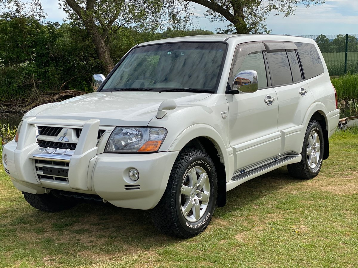 2006 MITSUBISHI PAJERO ACTIVE FIELD EDITION 3.0 V6 4X4 7 SEATER For Sale (picture 1 of 6)