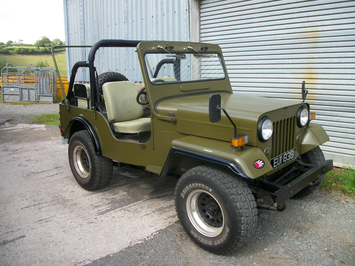 1991 willys jeep mitsubishi j53 For Sale (picture 1 of 4)