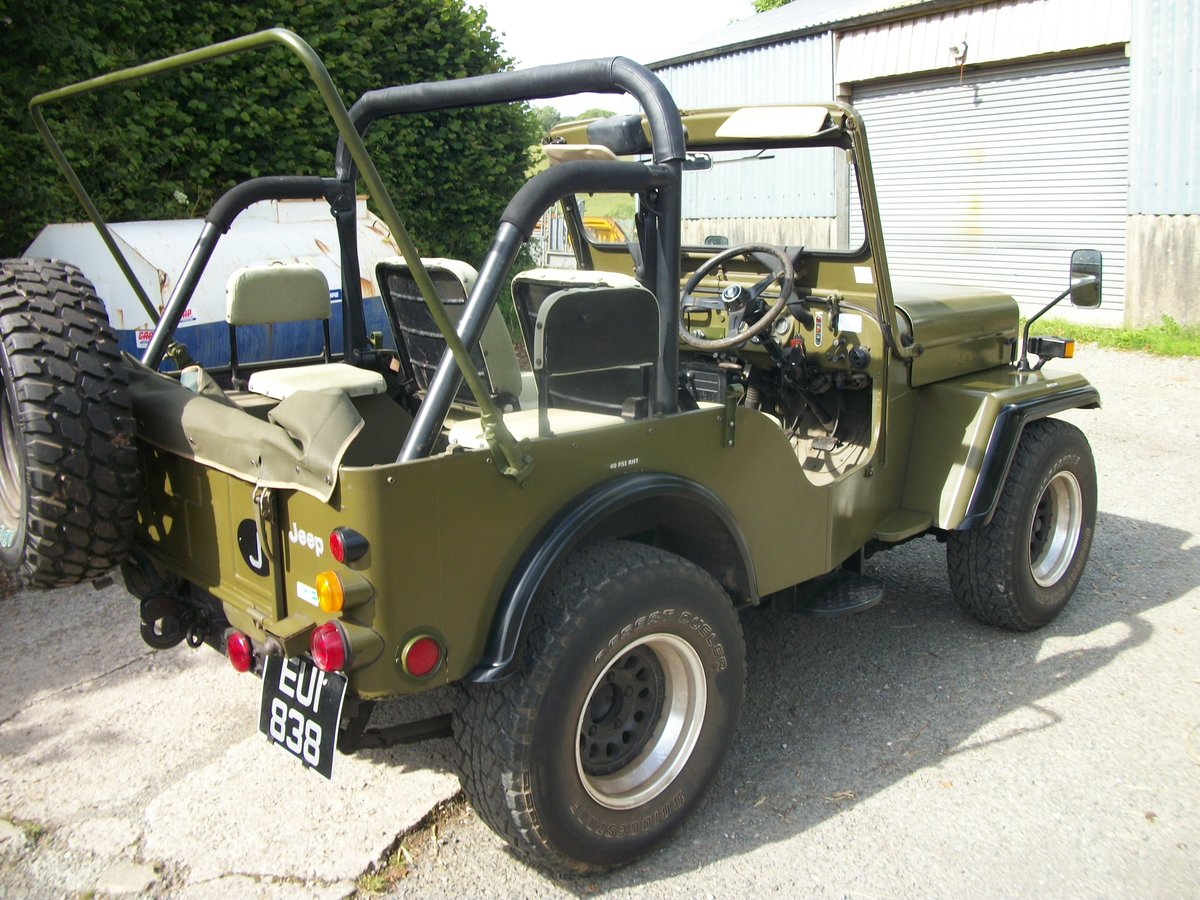 1991 willys jeep mitsubishi j53 For Sale (picture 2 of 4)