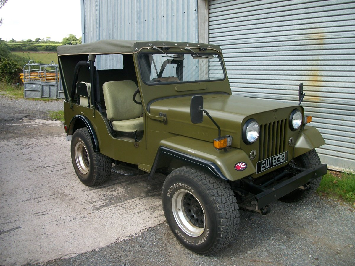 1991 willys jeep mitsubishi j53 For Sale (picture 3 of 4)