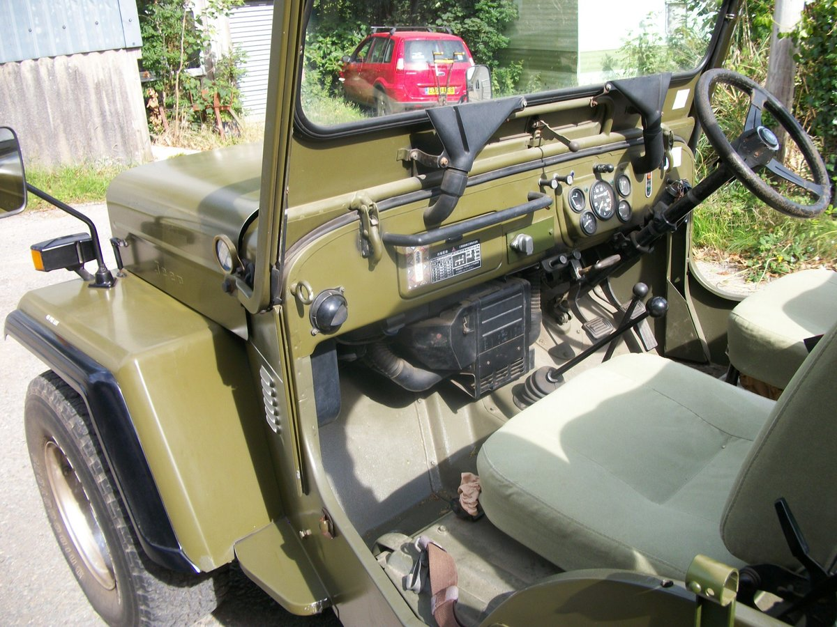 1991 willys jeep mitsubishi j53 For Sale (picture 4 of 4)