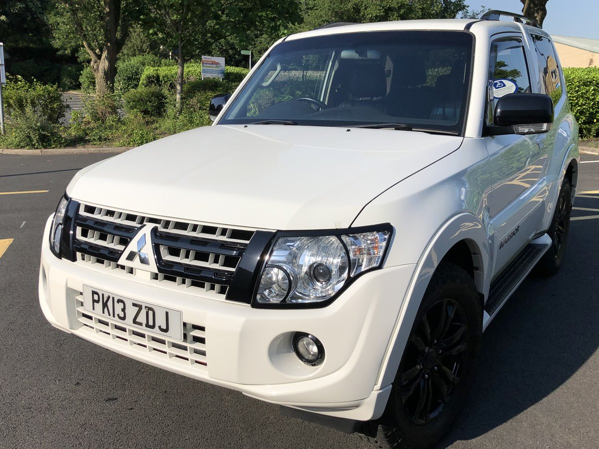 2013 Mitsubishi Shogun Warrior/Barbarian swb Auto For Sale (picture 4 of 6)