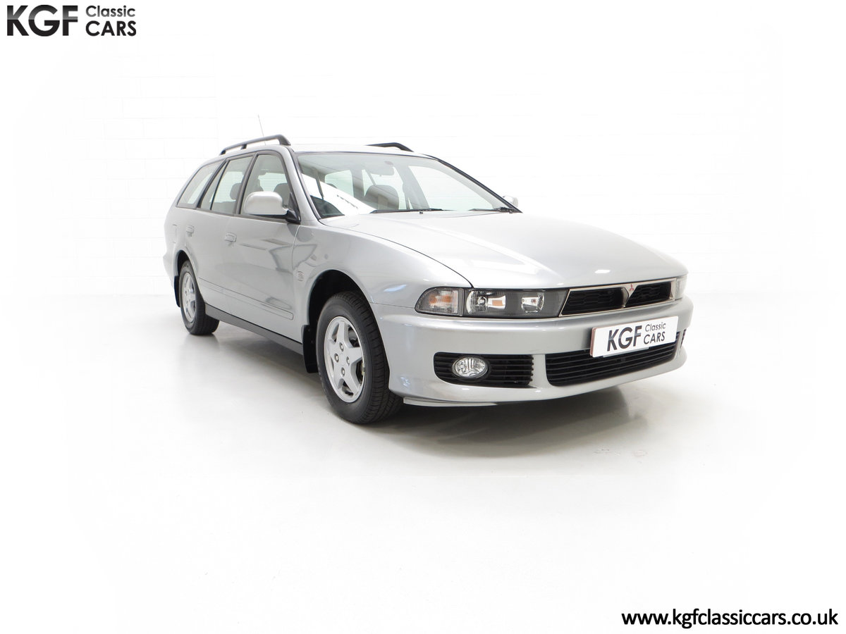2000 An Incredible Mitsubishi Galant 2.0 GLS Estate, 6,593 Miles SOLD (picture 1 of 24)