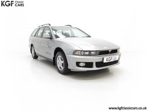 2000 An Incredible Mitsubishi Galant 2.0 GLS Estate, 6,593 Miles SOLD