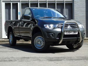 Mitsubishi L200 2.5 DI-D CR 4Work Single Cab 4WD 2dr (EU5)