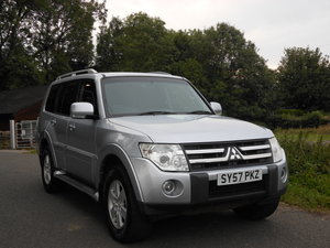 2007 Mitsubishi Shogun 3.2DI-D LWB Equippe New Shape 7 Seats SOLD