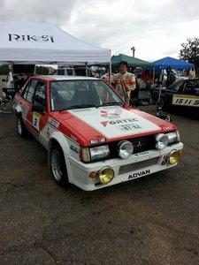 1982 Lancer turbo rally car