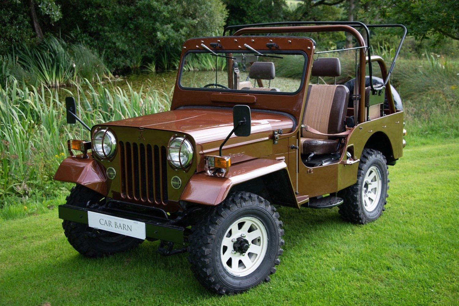 1980 Mitsibishi Jeep Wiley J58 Soft Top (SWB) For Sale (picture 1 of 6)