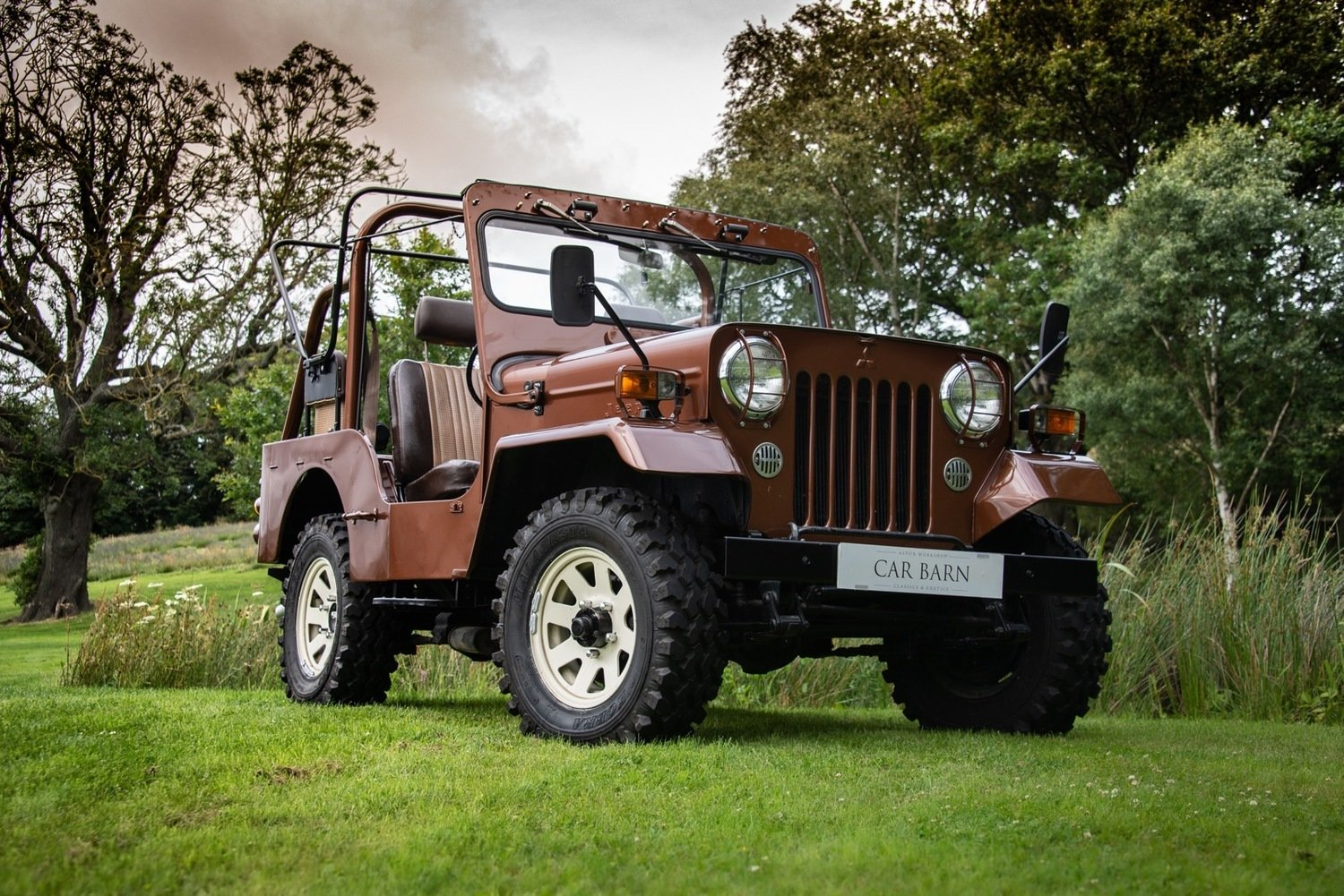 1980 Mitsibishi Jeep Wiley J58 Soft Top (SWB) For Sale (picture 2 of 6)