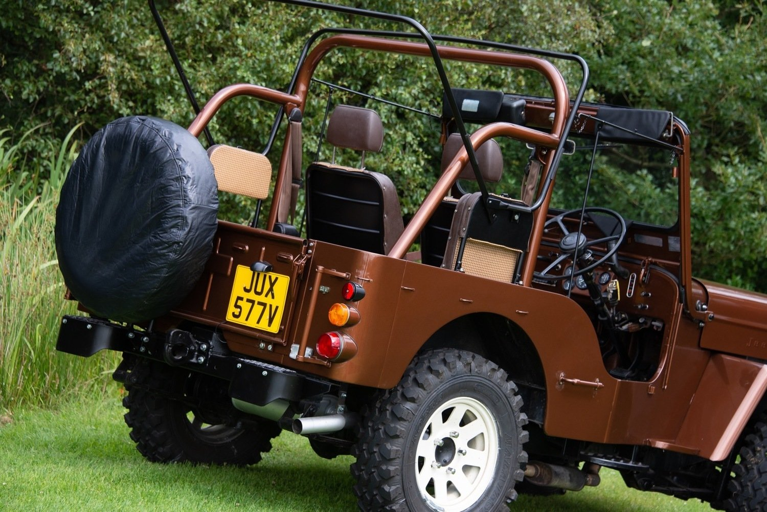 1980 Mitsibishi Jeep Wiley J58 Soft Top (SWB) For Sale (picture 3 of 6)
