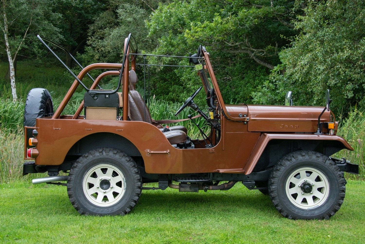 1980 Mitsibishi Jeep Wiley J58 Soft Top (SWB) For Sale (picture 4 of 6)