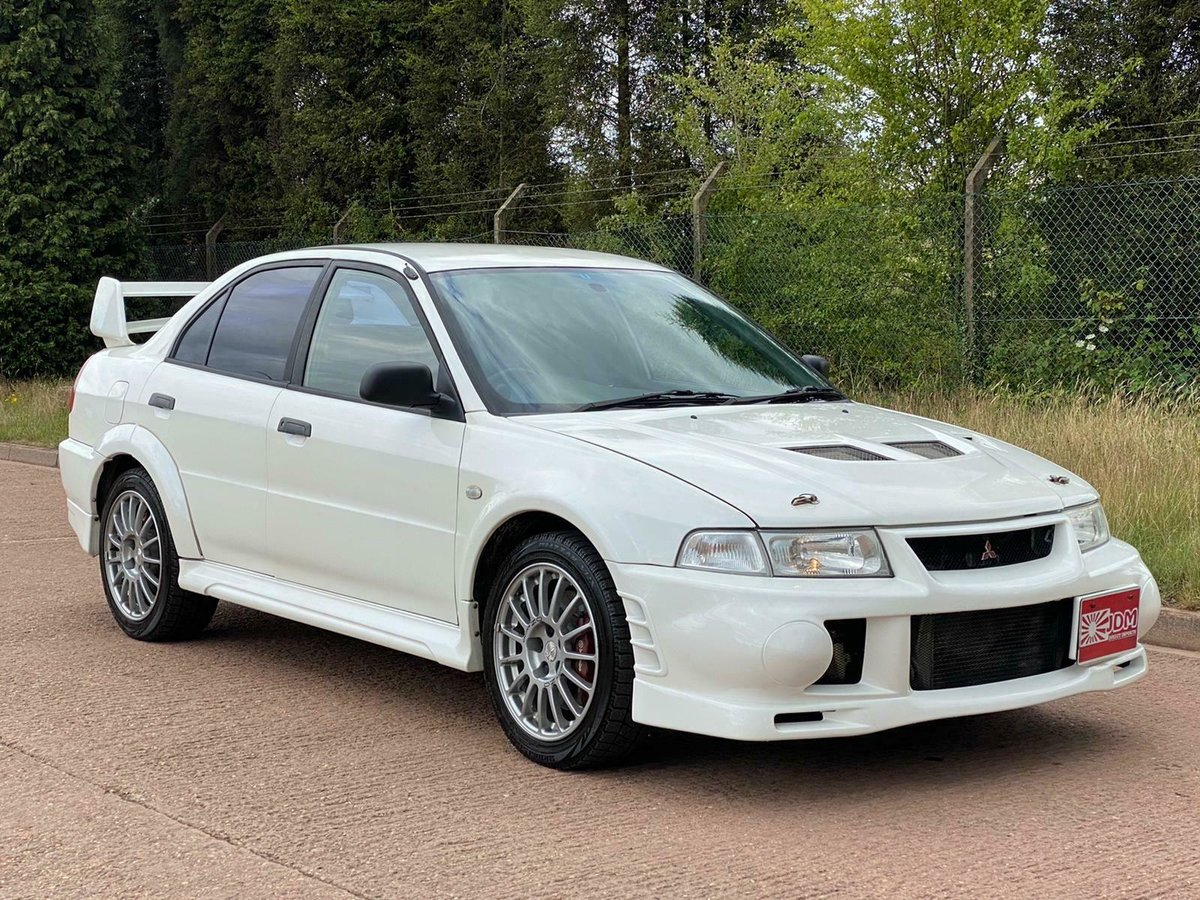 1999 Mitsubishi lancer evo 6 rs + 34000 miles! For Sale (picture 1 of 6)