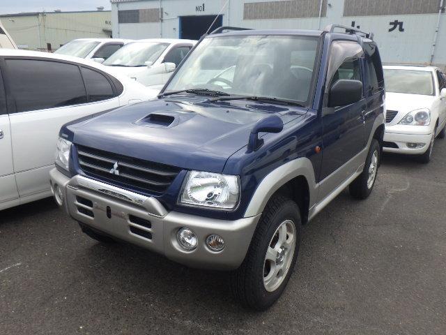 2001 MITSUBISHI PAJERO MINI 660CC 4X4 OFF ROAD MANUAL * LOW MILES For Sale (picture 1 of 6)