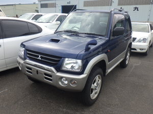 2001 MITSUBISHI PAJERO MINI 660CC 4X4 OFF ROAD MANUAL * LOW MILES For Sale