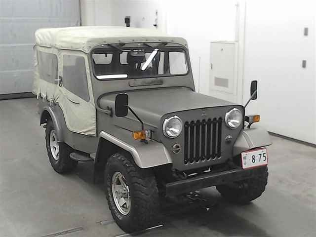 1980 MITSUBISHI JEEP J54 2.7 DIESEL ON & OFF ROAD 4X4 SOFT TOP *  For Sale (picture 1 of 3)