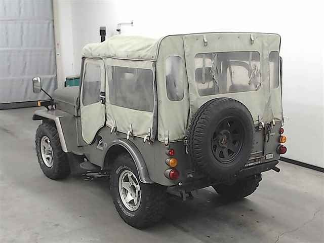 1980 MITSUBISHI JEEP J54 2.7 DIESEL ON & OFF ROAD 4X4 SOFT TOP *  For Sale (picture 2 of 3)
