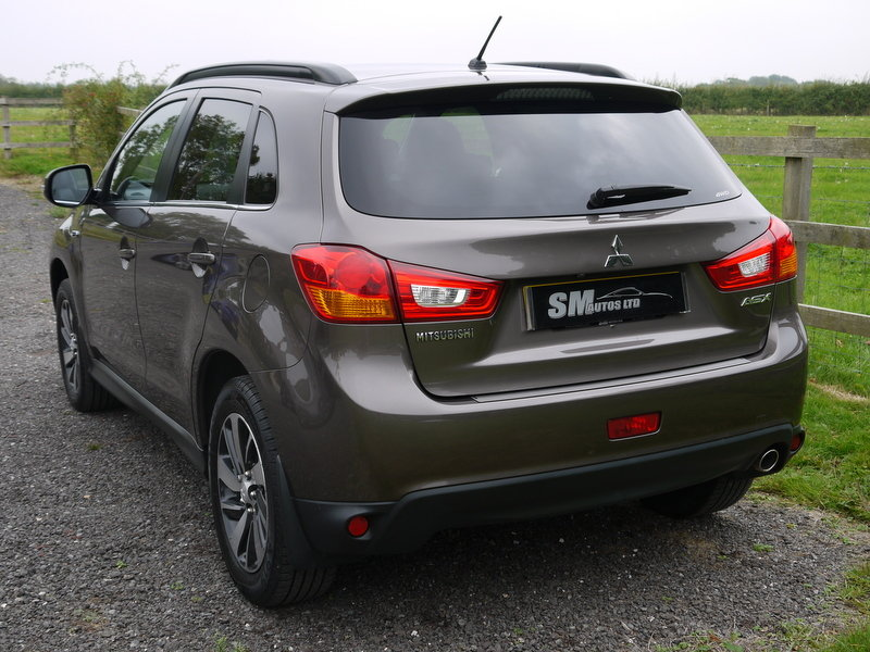 2015 MITSUBISHI ASX 4 2.2 DI-D 4X4 SUV AUTO, NAV, PAN ROOF SOLD (picture 3 of 6)