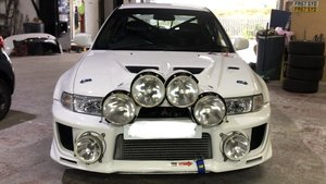 Genuine GRP N Rally Car - Mitsubishi EVO 5