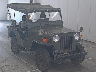 MITSUBISHI JEEP 1953-1960 CJ3 BJ10 WILLYS 2.2 ARMY MILITARY